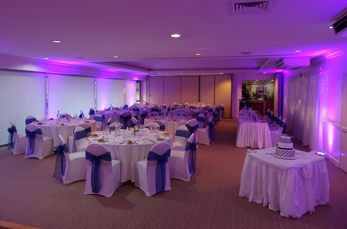 One of the manty up lighting colours DJ Hire Special Effects