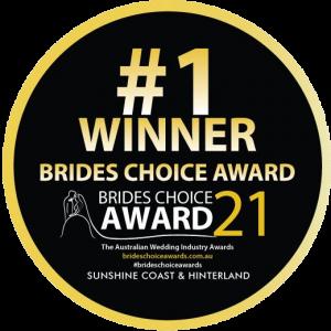 Winner of the Brides Choice Award 2021 Best Wedding DJ